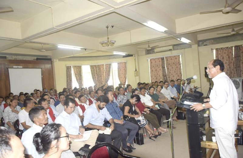 Rio calls for people's movement to make Dimapur a better place