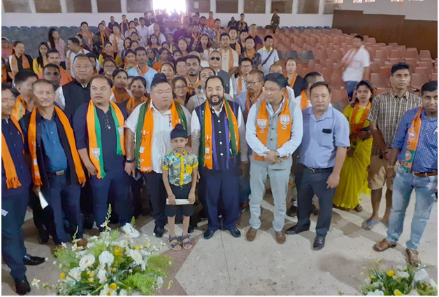 With 3.20 lakhs members, BJP claims  largest party in Nagaland