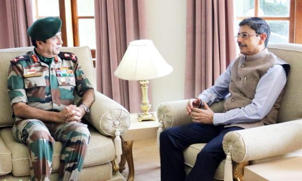 Governor reviews security situation in Nagaland