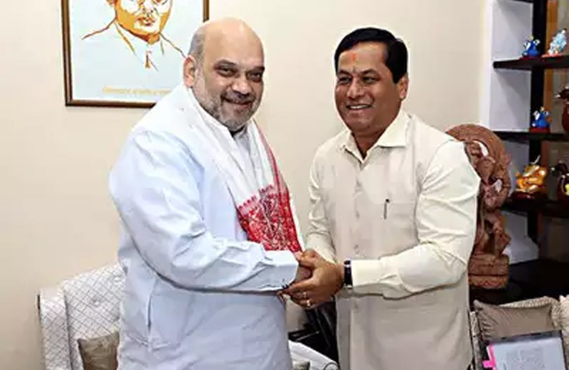 Govt to take into account Assam's interests while signing Naga pact: Shah assures Sonowal