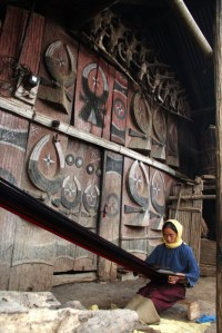 Wood Carved Wall