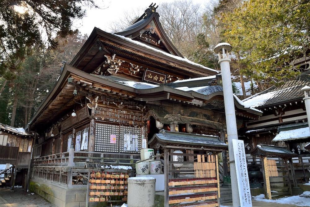 Kitamuki-kannon Temple in Ueda city, Nagano