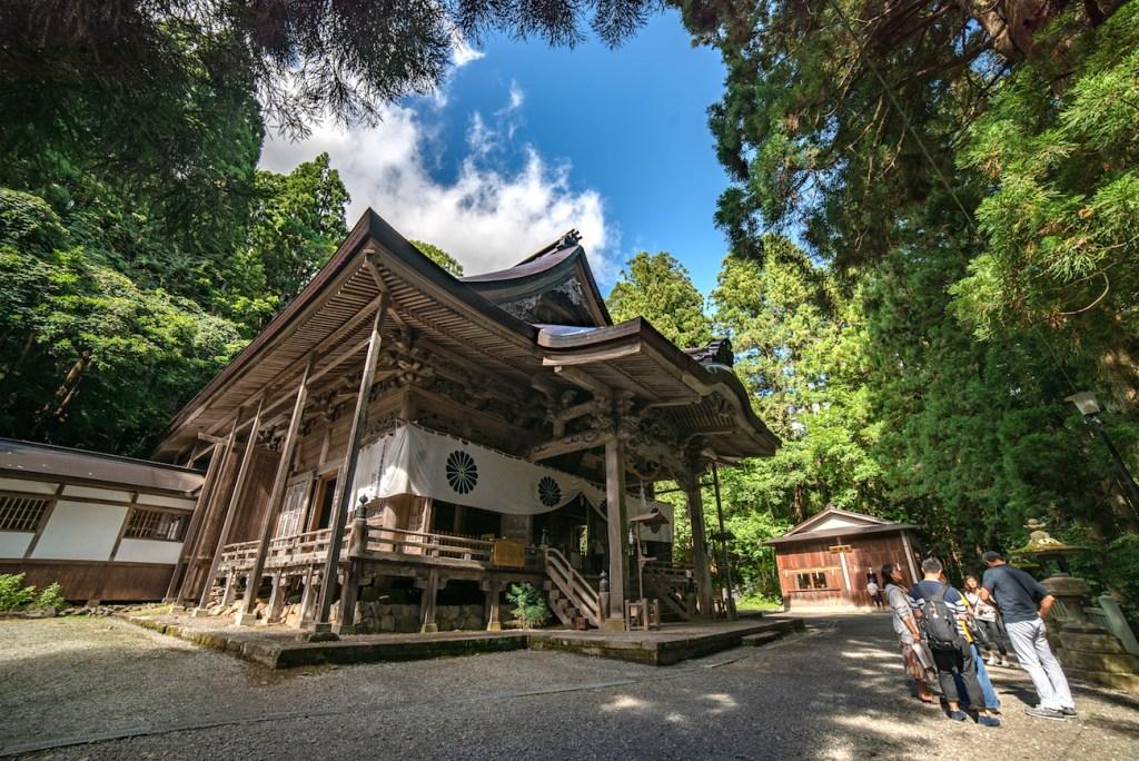 Togakushi-jinja Srine in Nagano
