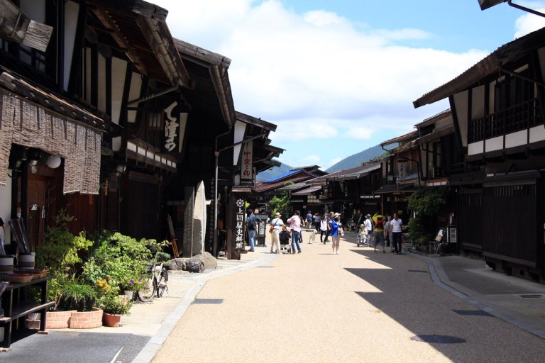 Narai-juku Historic Post town