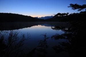 Shirakoma pond in Nagano.