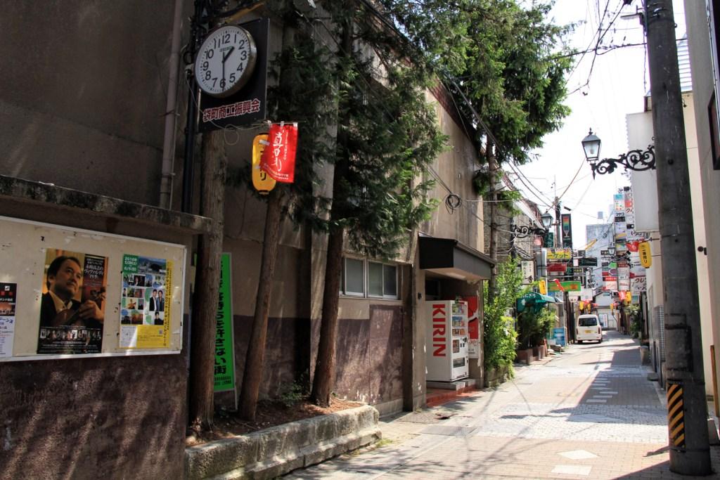 uramachi in ueda, nagano