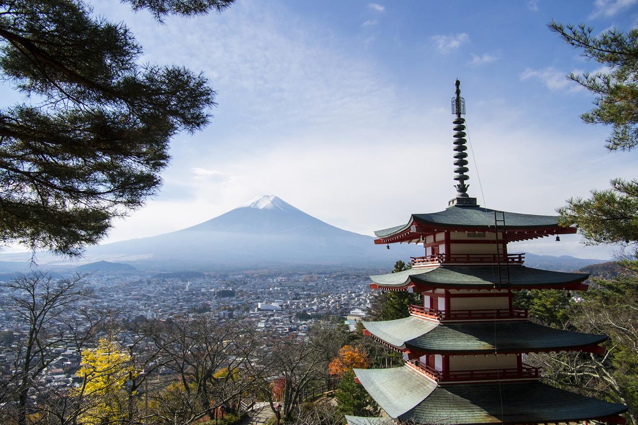 Nt, Fuji in Japan