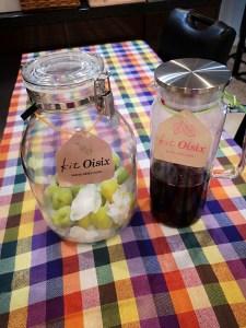 梅シロップと赤紫蘇シロップ