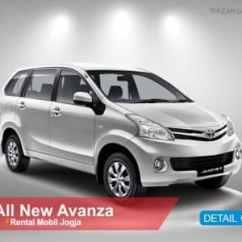 Grand New Avanza Yogyakarta All Kijang Innova 2.0 G Rental Mobil Di Jogja 2018 Sewa Supir