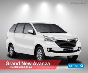 harga grand new avanza 2017 jogja 2015 bekas rental mobil di 2018 sewa supir yogyakarta