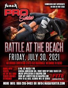 NAGA Pro Battle at the Beach 2021