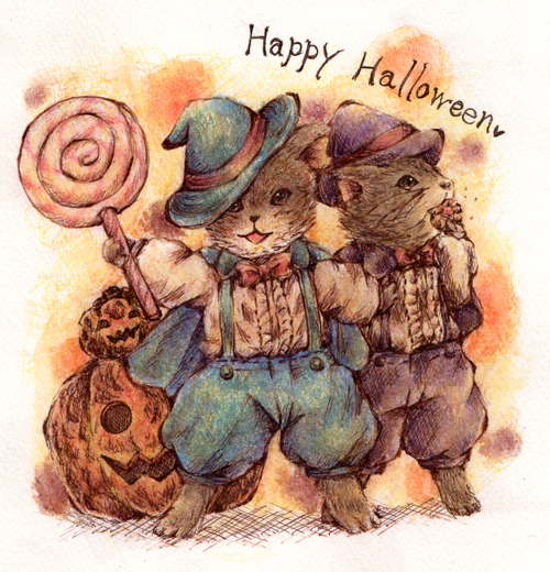 Chats - Halloween