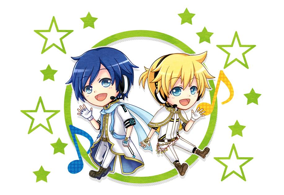 Chibi Kaito et Ren