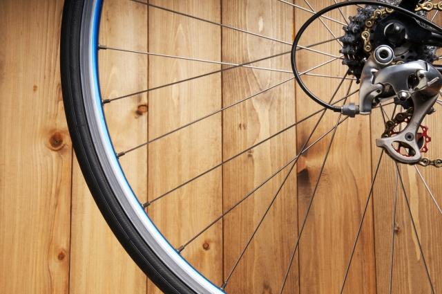 ボールペンを自転車で復活