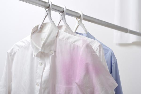 洗濯物の色移り