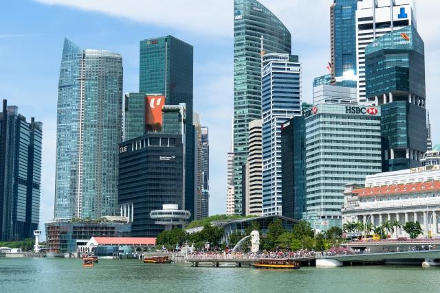 シンガポールの街