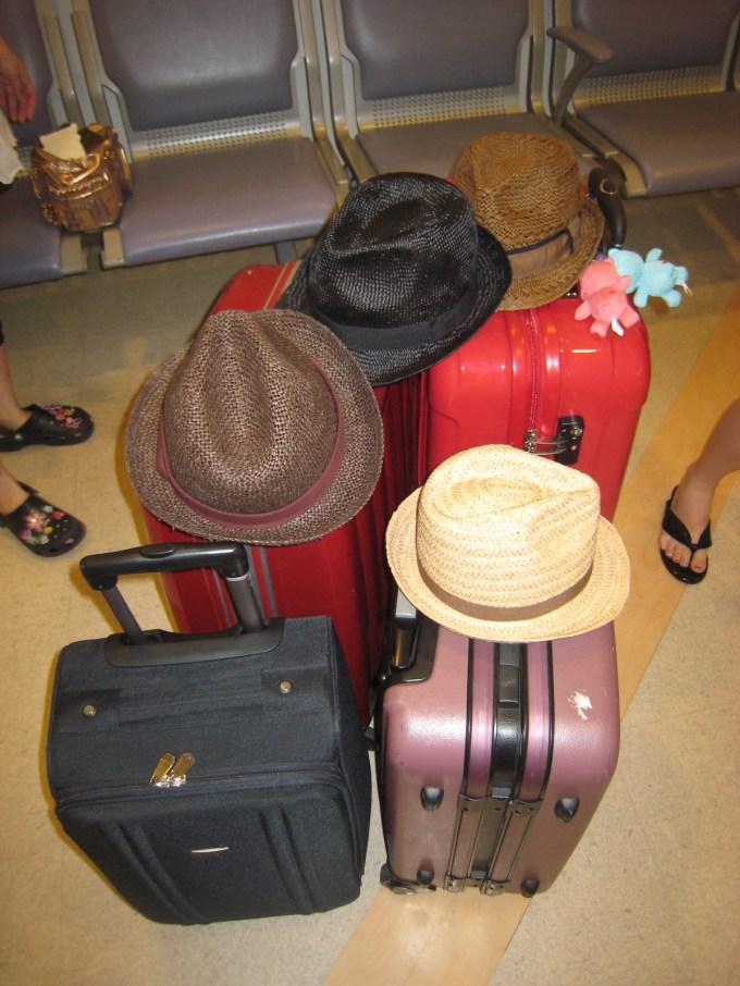 タイ旅行の荷物