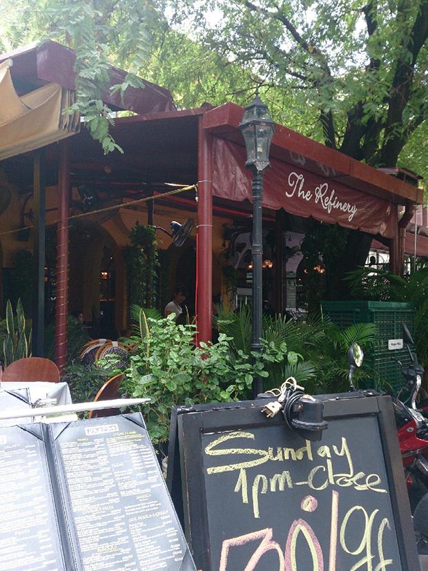 ベトナムホーチミンのイタリアンカフェ