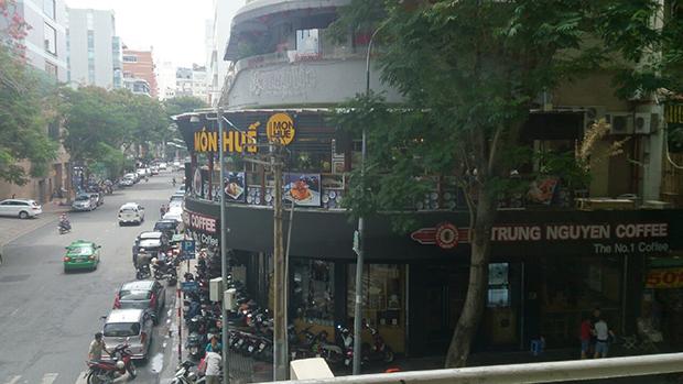 サイゴンホテルからの景色