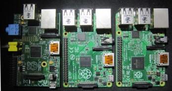 Raspberry pi modèles B, B+ et B2