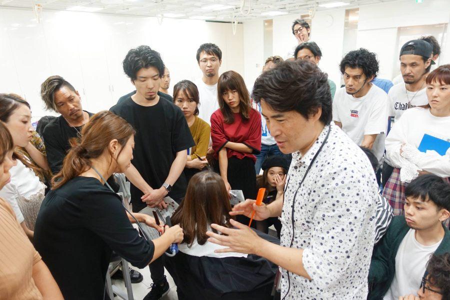 第2回!日本一の縮毛矯正セミナー(デジタルパーマ編) | 本当に勉強になる菅田さんの講習とミルボン[ネオリシオ]