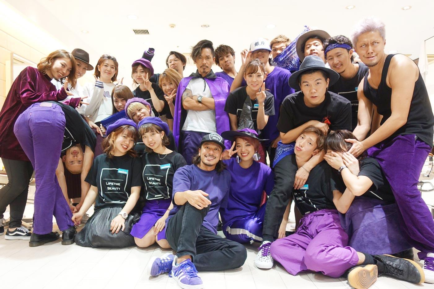 鏡の中のムラサキスポーツな[air-GINZA]ファッションDAY