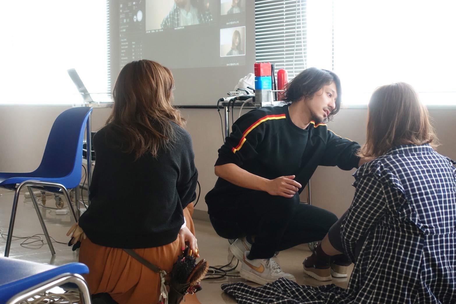 [DEMI大阪]作品撮りセミナー、ネオストリーム に向けての引き出し作り。自分も大きく成長できました!