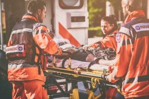 EMT paramedic team