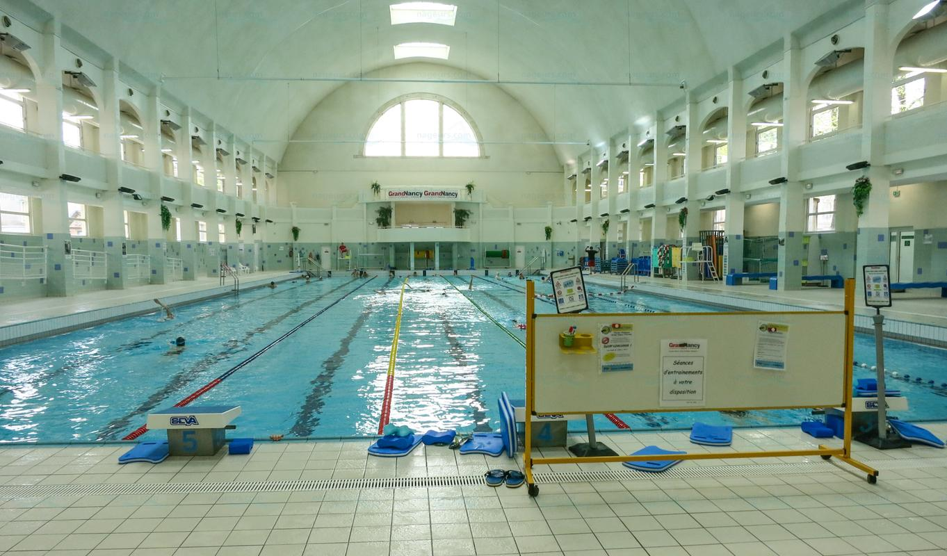 Piscine Grand Nancy Horaires Piscine Nancy Thermal Couverte Nageurs