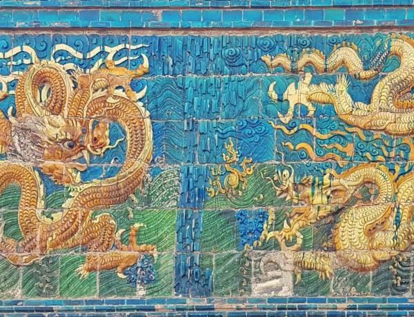 Chiński mur dziewięciu smoków.
