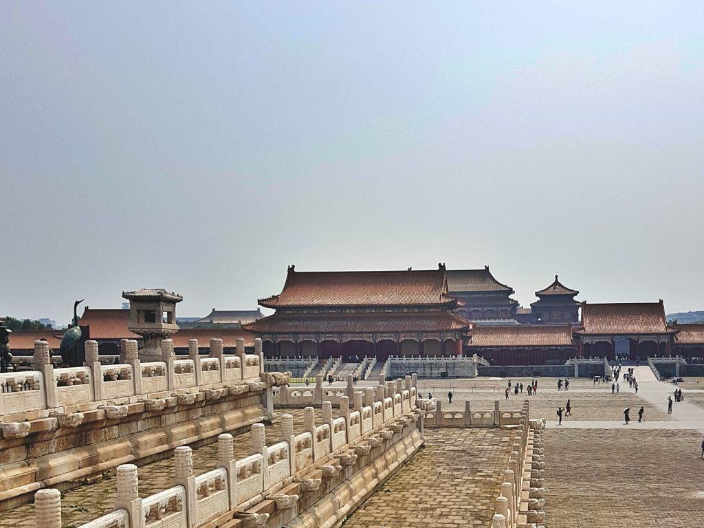 Jeden z pałaców w Zakazanym Mieście w Pekinie.