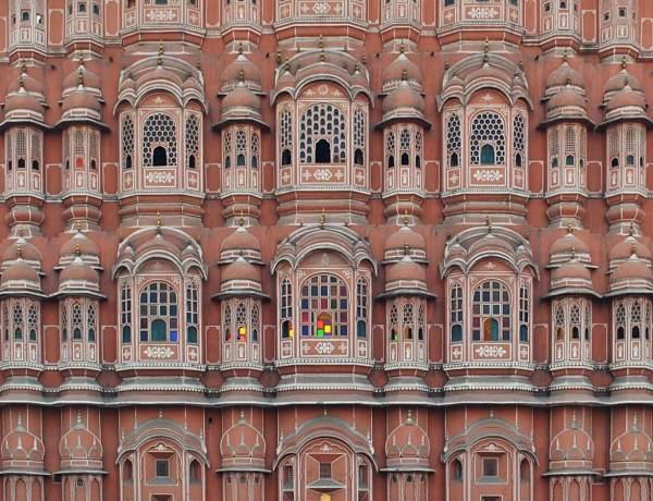 Pałac w Dżajpurze w Indiach.