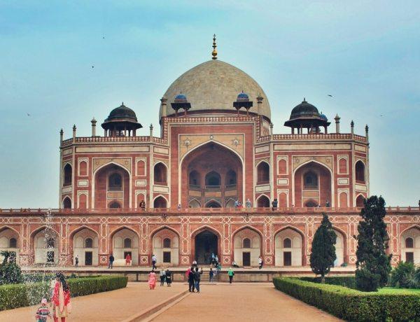 Grobowiec Humajuna w Delhi, w Indiach.