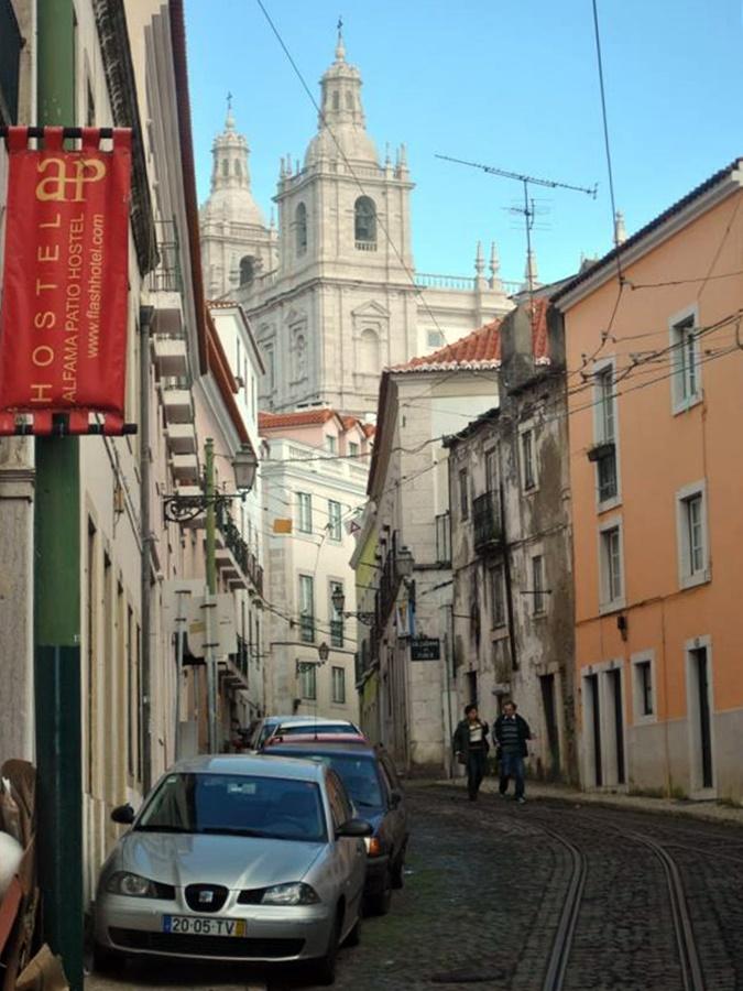 Klasztor w Alfamie, w Lizbonie.
