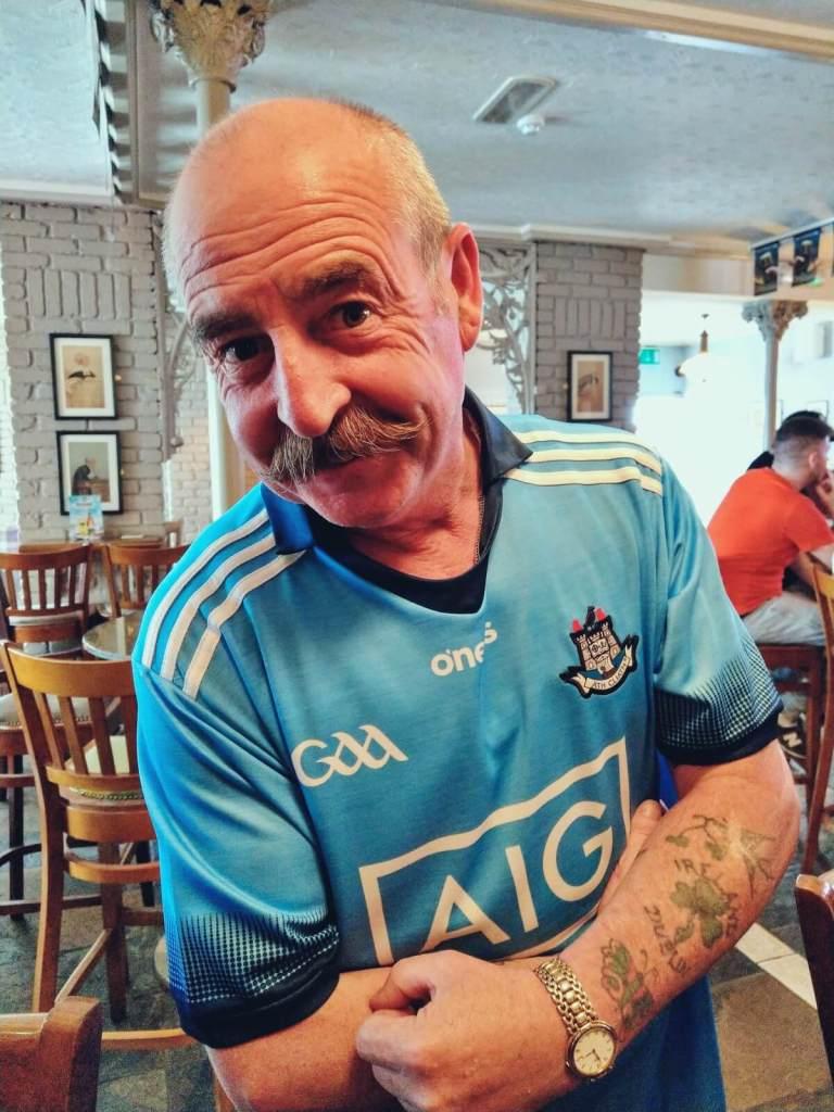 Kibic futbolu irlandzkiego.