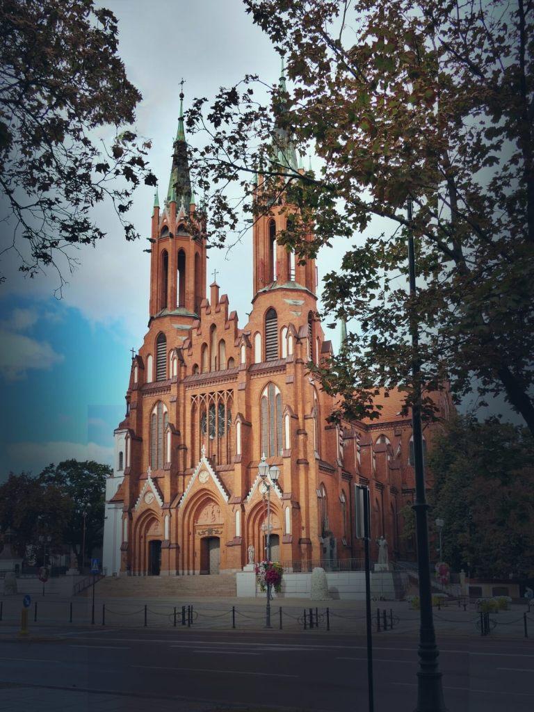 Bazylika Archikatedralna Wniebowzięcia Najświętszej Maryi Panny w Białymstoku.