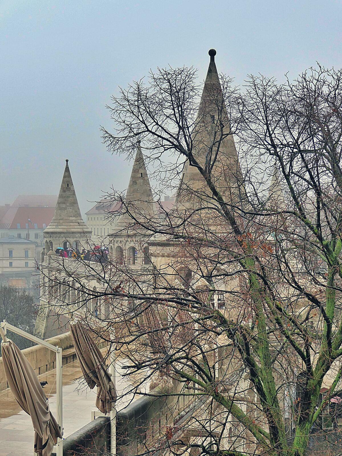 Baszta Rybacka w Budapeszcie na Węgrzech.