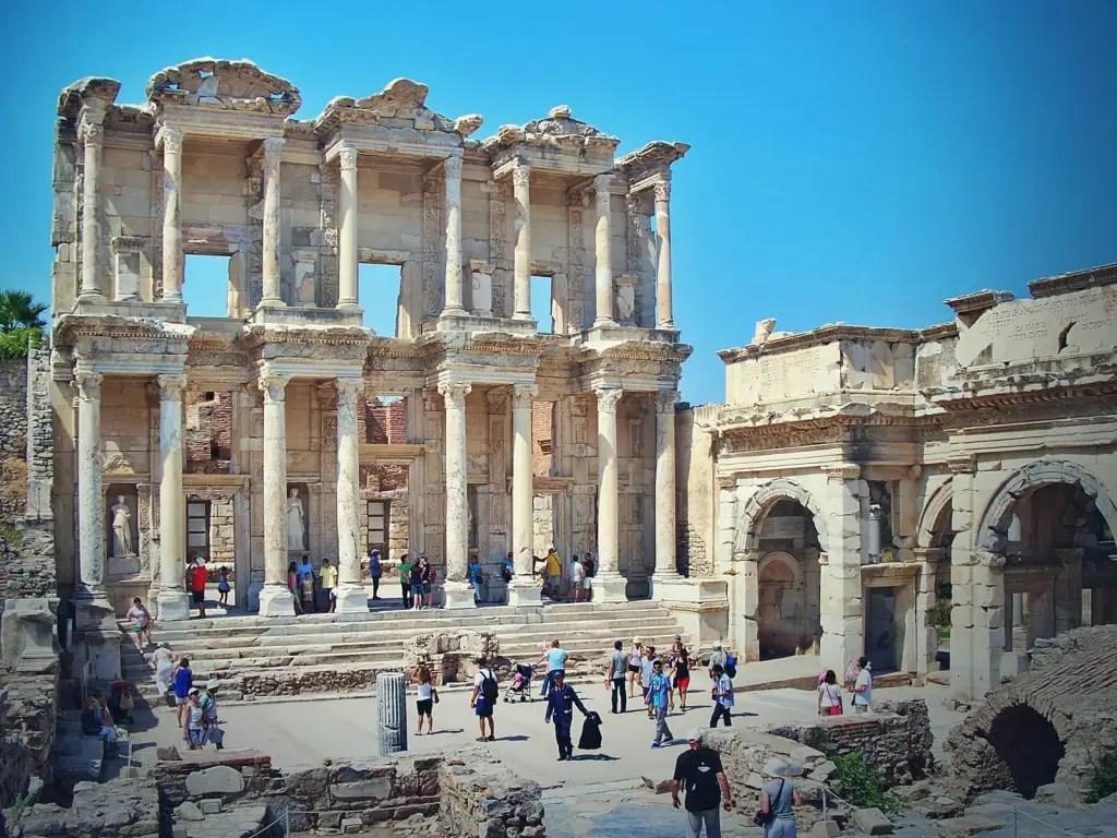 Biblioteka Celsusa w Efezie, w Turcji.
