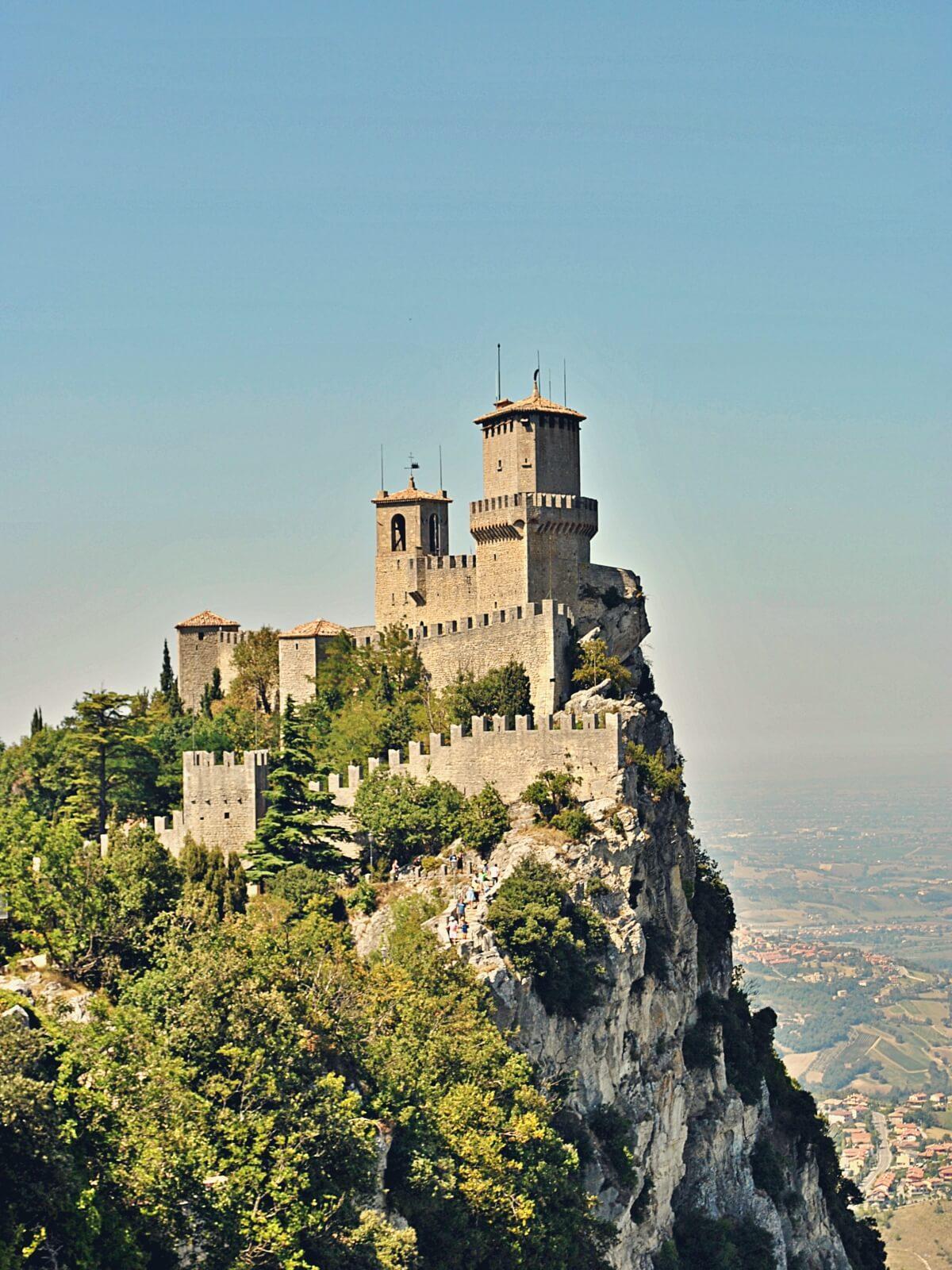 Najstarsza część republiki San Marino.