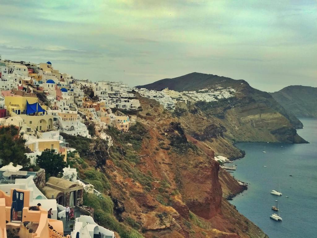 Grecja, wyspa Santorini.