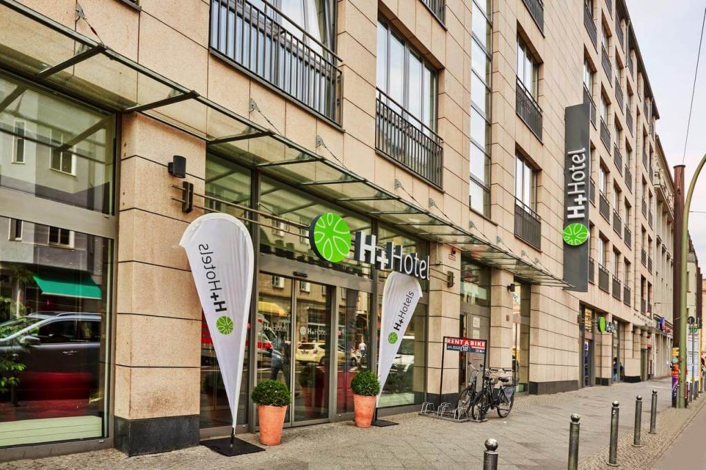 H+ Hotel Berlin Mitte.