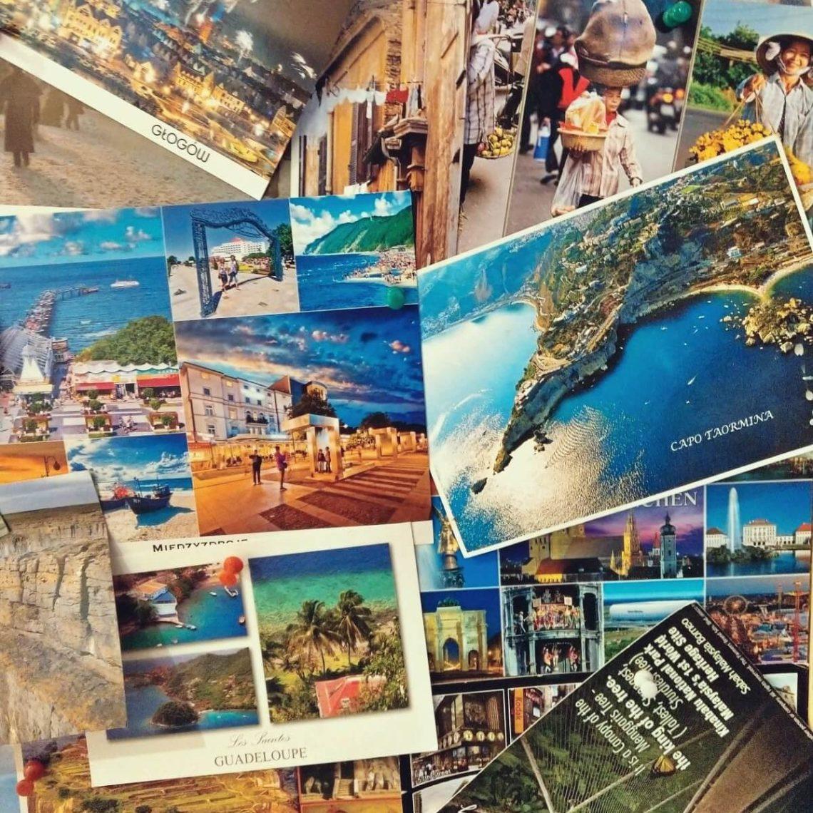 Wyślemy do Ciebie pocztówkę z naszej podróży.