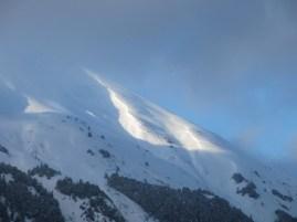 Light on the ridge
