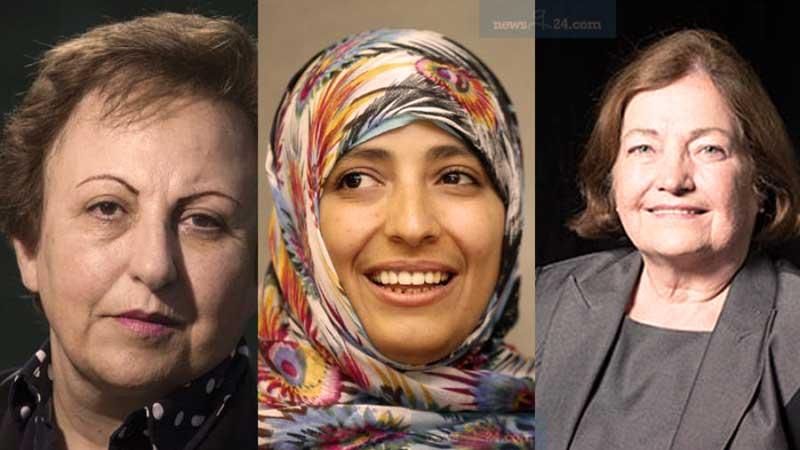 রাখাইনে গণহত্যার জন্য সু চি'কে দায়ী করলেন নোবেল জয়ী তিন নারী
