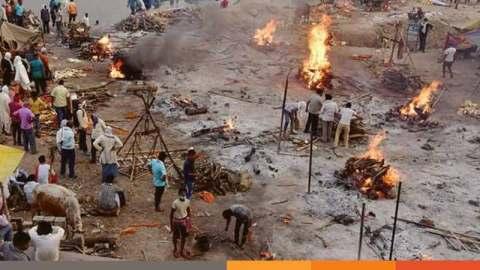 করোনা: ভারতে গতকালও মৃত্যু রেকর্ড