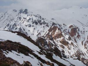 硫黄尾根・赤岳前衛峰群