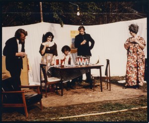 """Cast of Harold Pinter's """"The Birthday Party,"""" directed by Frank Hoyle, May, 1975."""