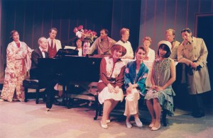 "Cast of Noel Coward's ""Hay Fever,"" directed by William Phillips, June, 1991"