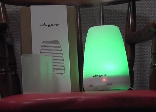 【Amazon】コスパ最高!LED綺麗!買って良かった1999円のアロマフューザー