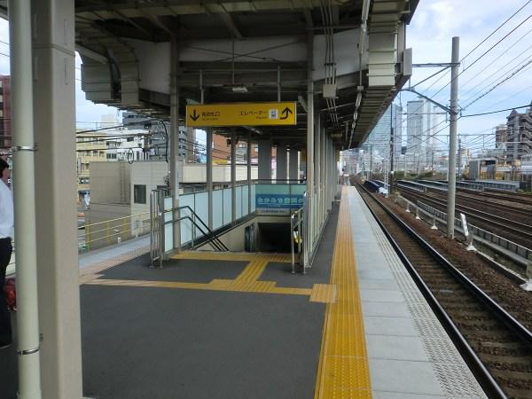 栄生駅:南改札口方面